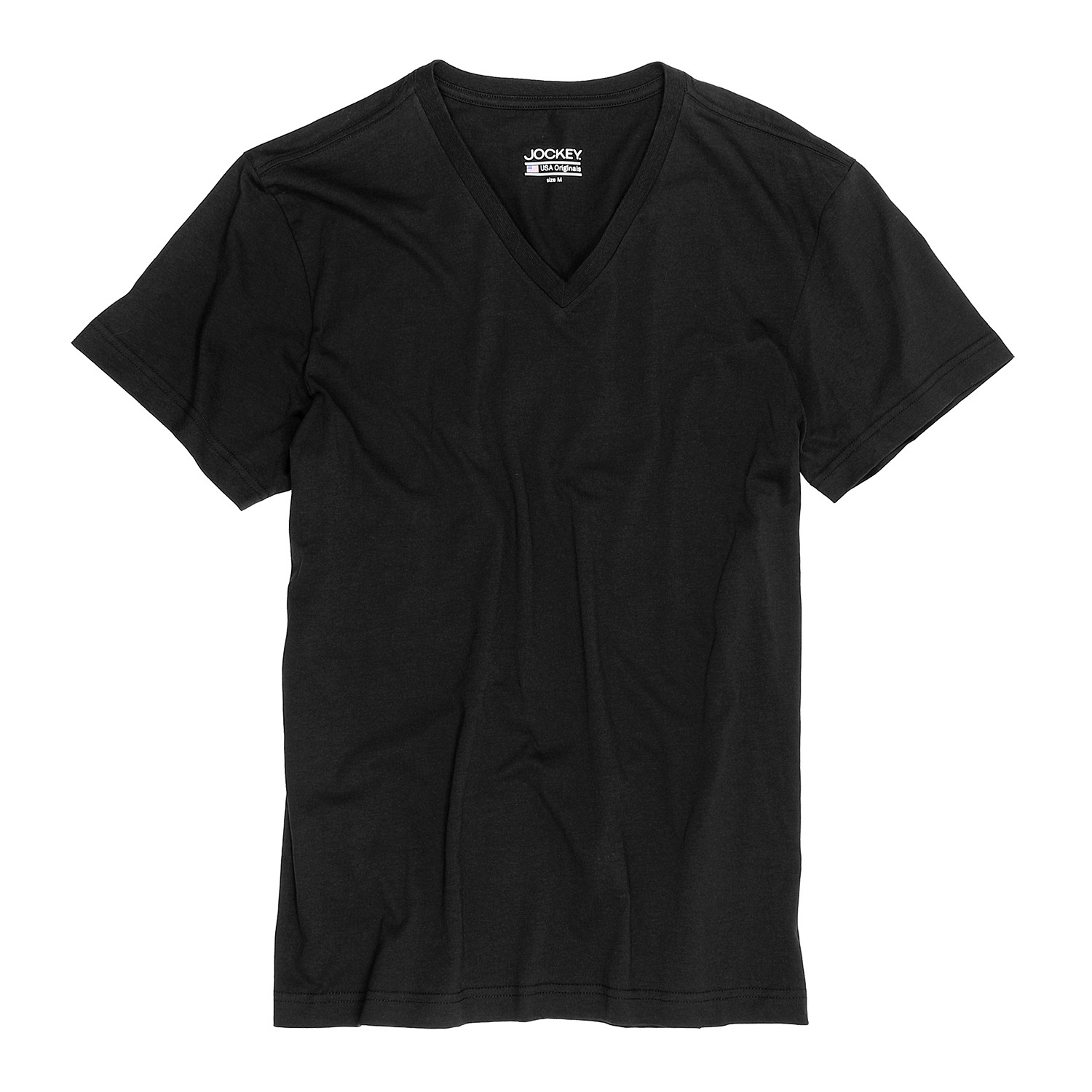 Detail Image to T-shirt double pack from Jockey in oversize until 6XL, black