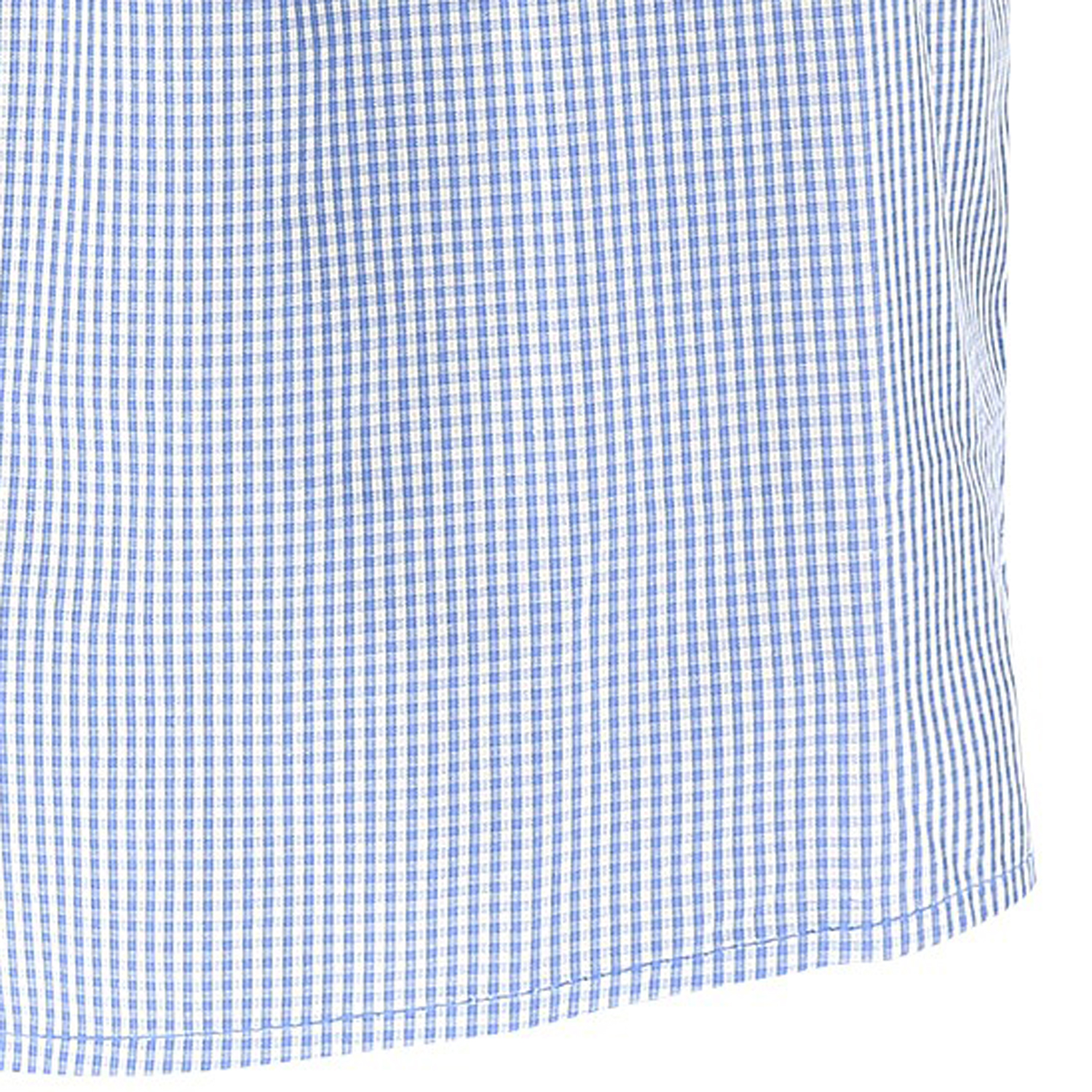 Detail Image to Boxershorts light blue checked for men by Jockey in oversizes up to 6XL