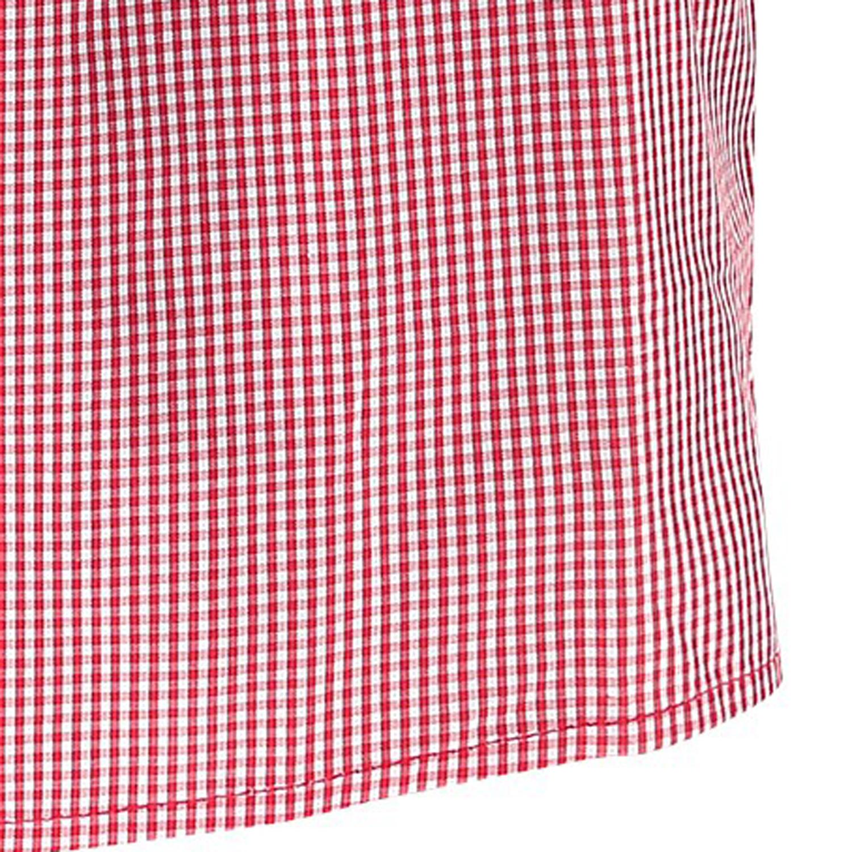 Detailbild zu Rot-weiß karierte Webboxershorts von JOCKEY in Übergrößen bis 6XL für Herren
