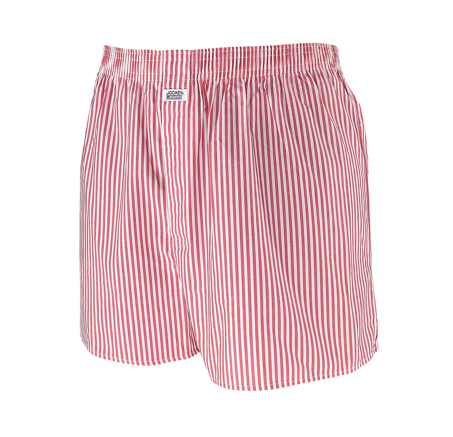 Detail Image to Red striped boxershorts for men by Jockey in oversizes up to 6XL