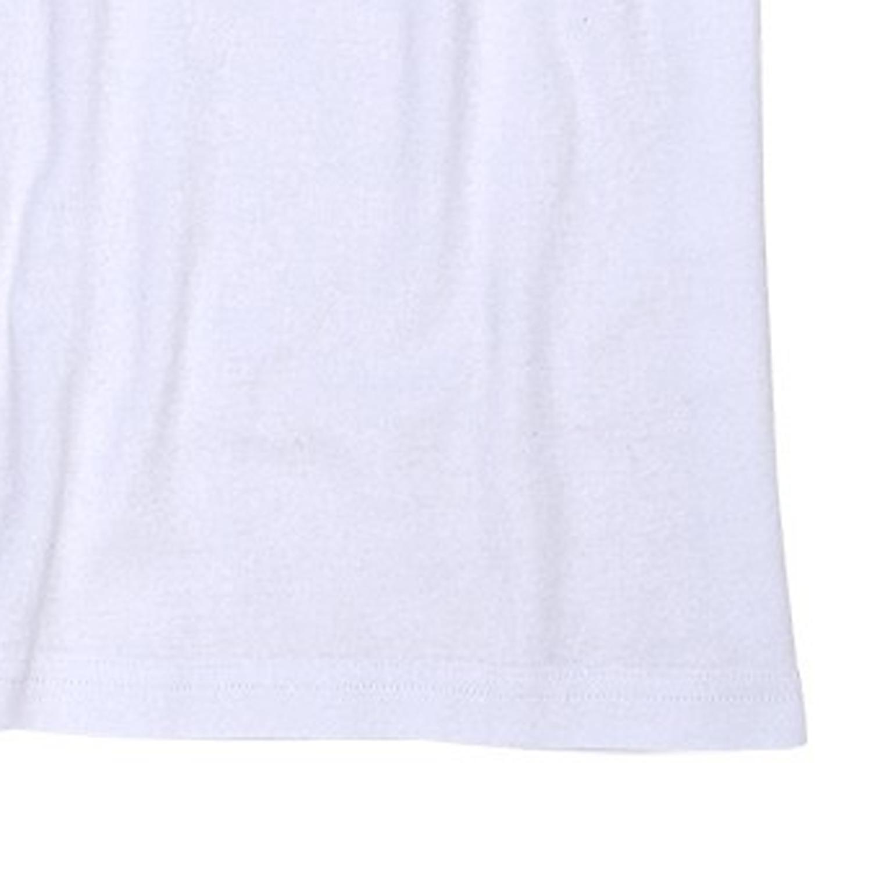Detailbild zu Weiße Shirts mit Rundhals im Doppelpack // Bis 6XL