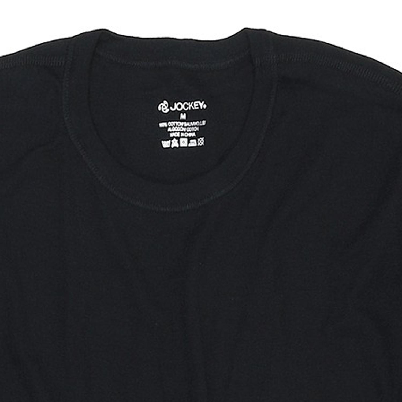 Image de détail de Deux maillots de corps noirs à col rond de Jockey // grandes tailles jusqu'au 6XL