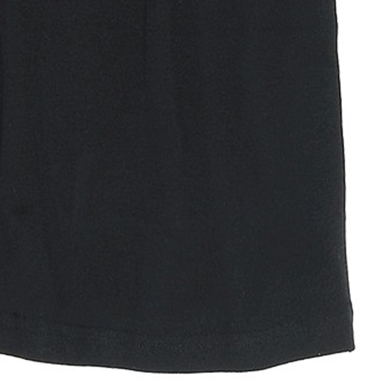 Detailbild zu Schwarze T-Shirts mit V-Ausschnitt im Doppelpack // Bis 6XL