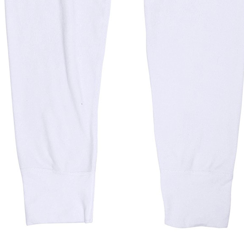 Image de détail de Caleçon long blanc de Jockey grandes tailles jusqu'au 6XL // avec ouverture