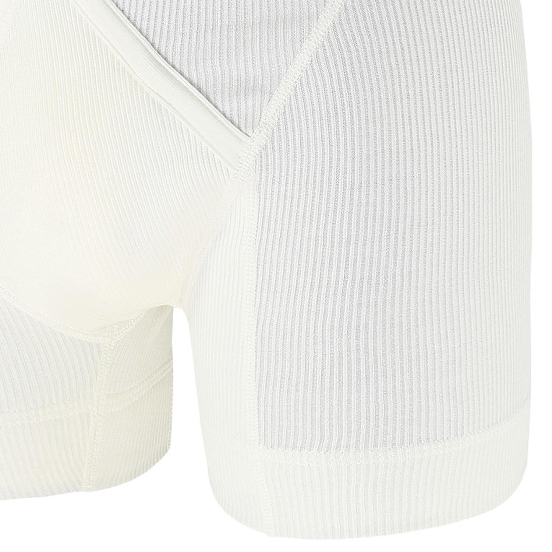 Image de détail de Pant blanc de Jockey grandes tailles jusqu'au 5XL - avec ouverture