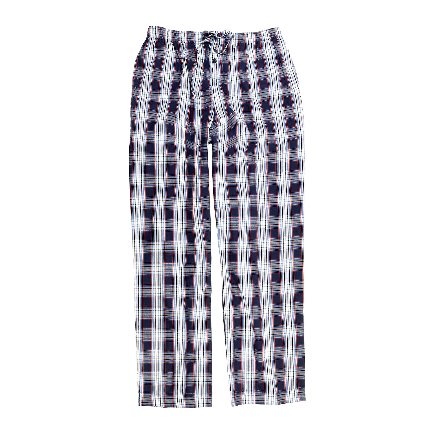 Detail Image to Pyjamas woven plaid from Jockey in extra large sizes up to 6XL and 110