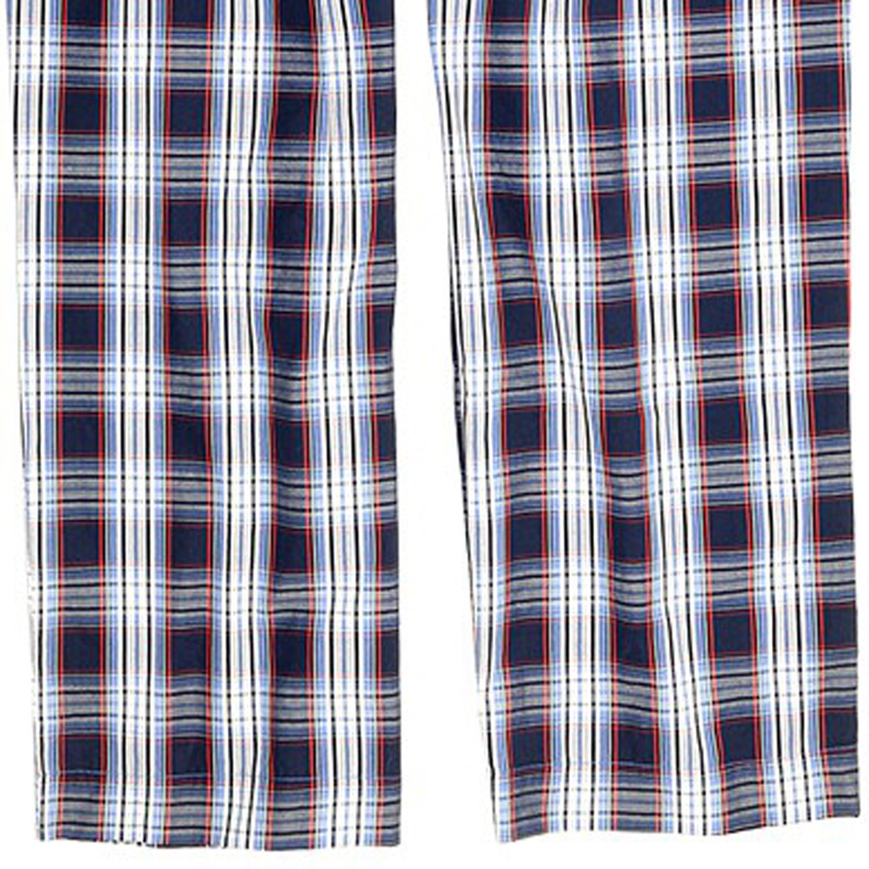 Image de détail de Ensemble pyjama long de JOCKEY  tailles jusqu'au 6XL et 110 - bleu à carreaux