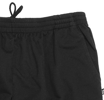 Detail Image to Black sweat pants by hajo in plus sizes up to 6XL