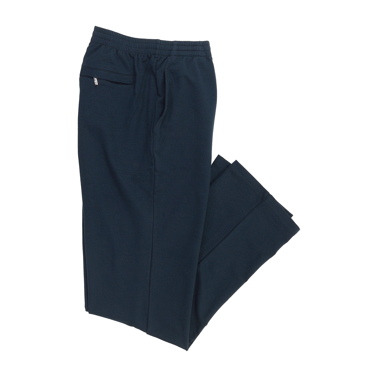 Detail Image to Blue sweat pants by hajo in plus sizes up to 6XL