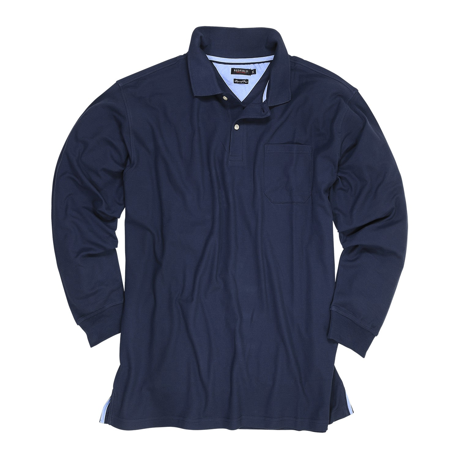 Detail Image to Bleu shirt by Redfield in plus sizes up to 8XL