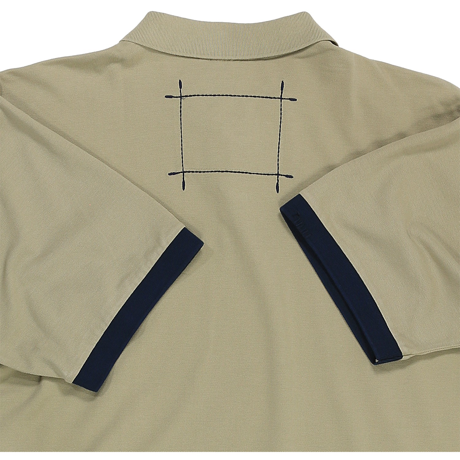 Detail Image to Poloshirt beige in oversize up to 6XL