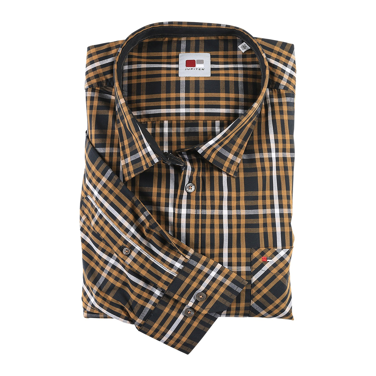 Detail Image to Shirt by Jupiter, checkered up to 7XL