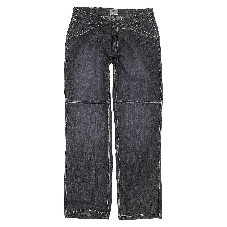 Detailbild zu Graue Jeanshose von Greyes in großen Größen