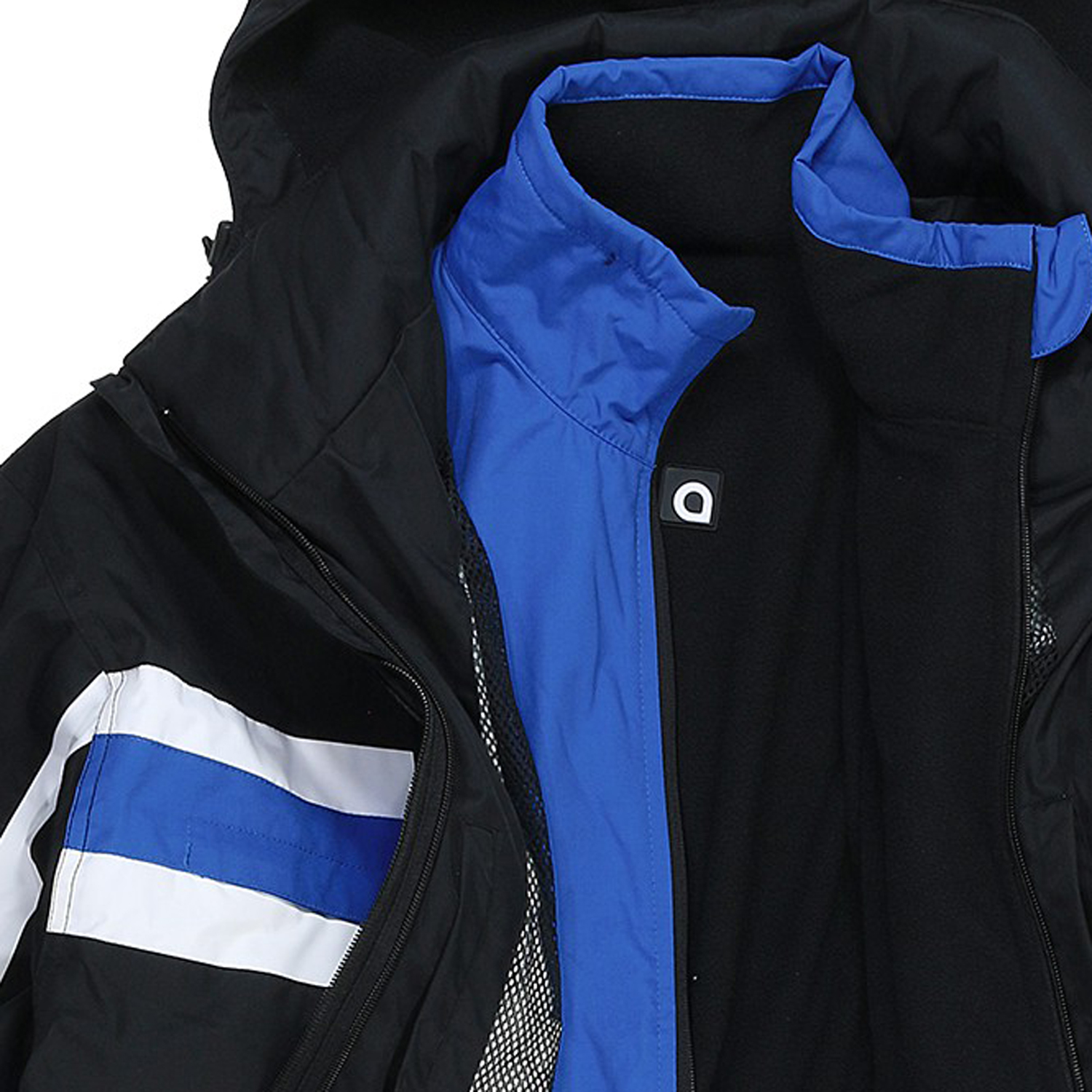 Detail Image to XXL Sports and ski  jacket in oversize by Aero