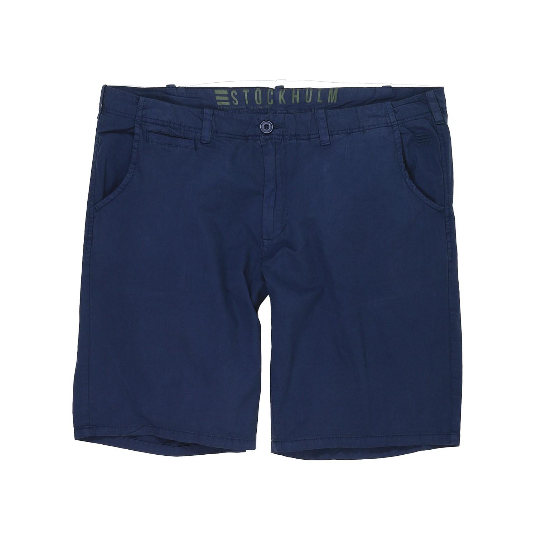 Detailbild zu Blaue Chino Shorts Outdoor von North 56°4 bis Übergröße W62