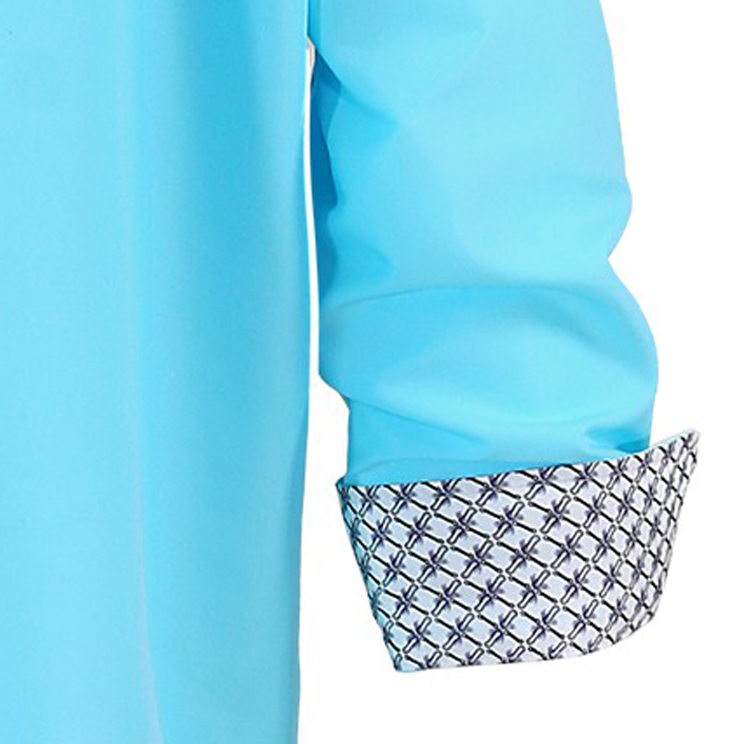 Detail Image to Shirt turquoise by Lavecchia, plus sizes up to 7XL