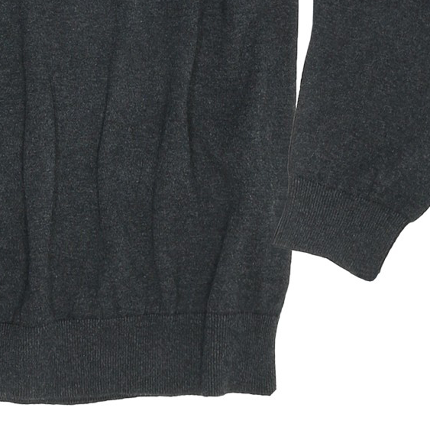Detail Image to Knit sweater in grey by Casamoda in plus sizes up to 6 XL