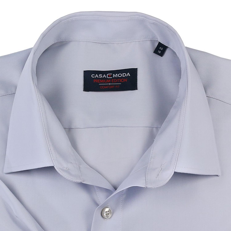 Detailbild zu Hellgraues Hemd von Casa Moda in Übergrößen bis 7XL