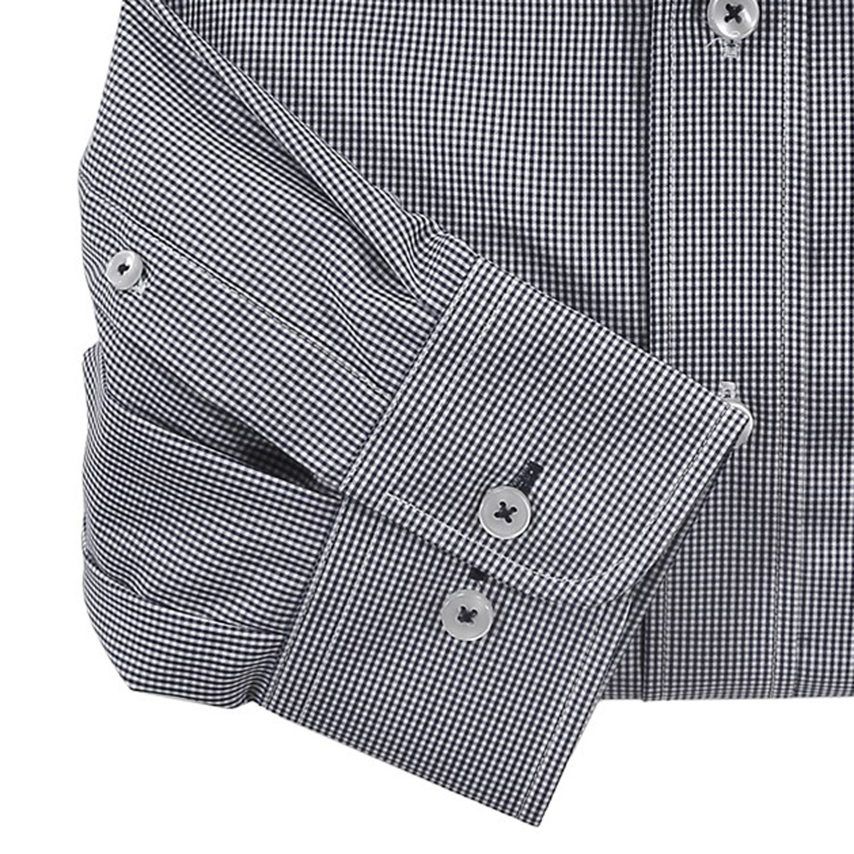 Image de détail de Chemise à carreaux noir-blanc de CASA MODA en grandes tailles jusqu'au 7XL