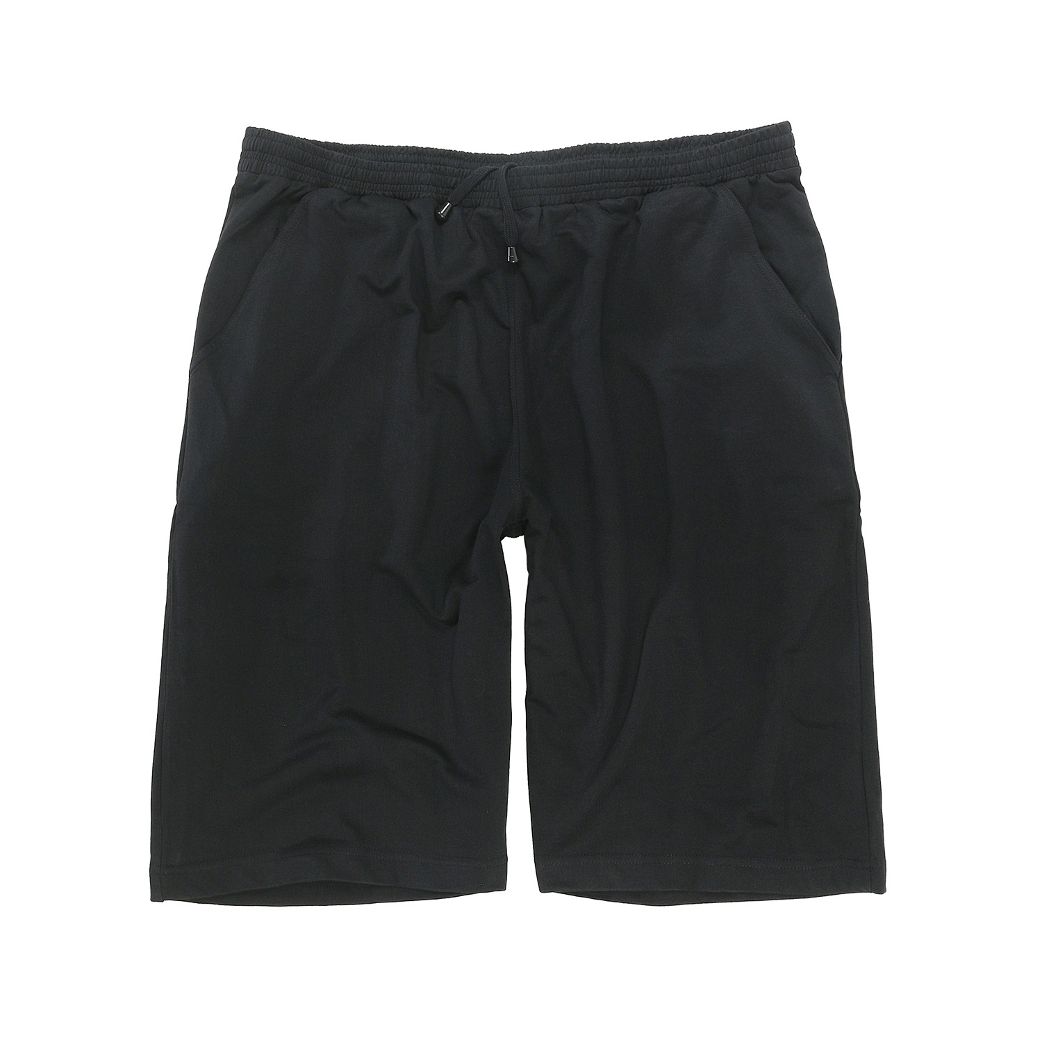 Detail Image to Black short jogging trousers up to 14XL by Adamo