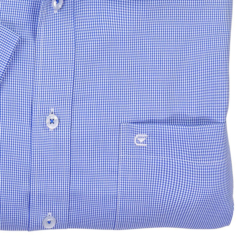 Image de détail de Chemisette à carreaux bleu clair/blanc de Casa Moda // grandes tailles jusqu'au 7XL