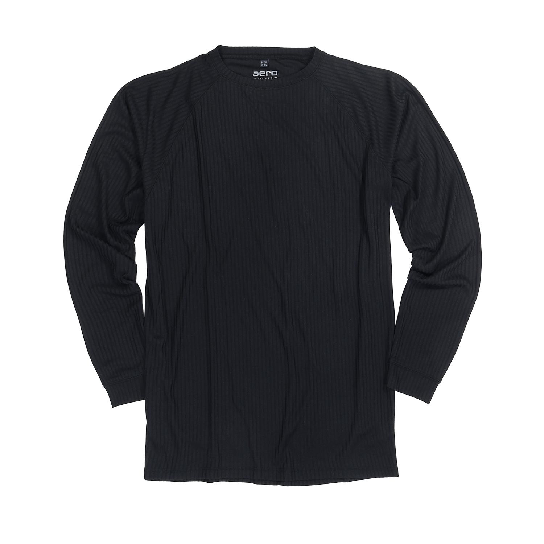 Image de détail de Ensemble de sous-vêtement fonctionnel noir by Allsize jusqu'à la grande taille 8XL