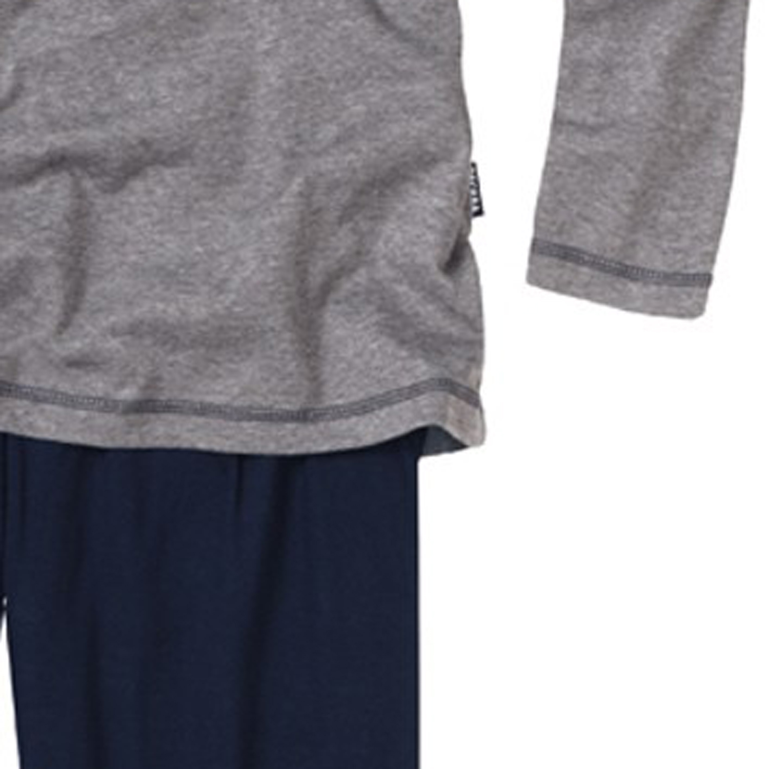 Detail Image to Long pyjamas grey-mottled by CECEBA in oversizes up to 7XL