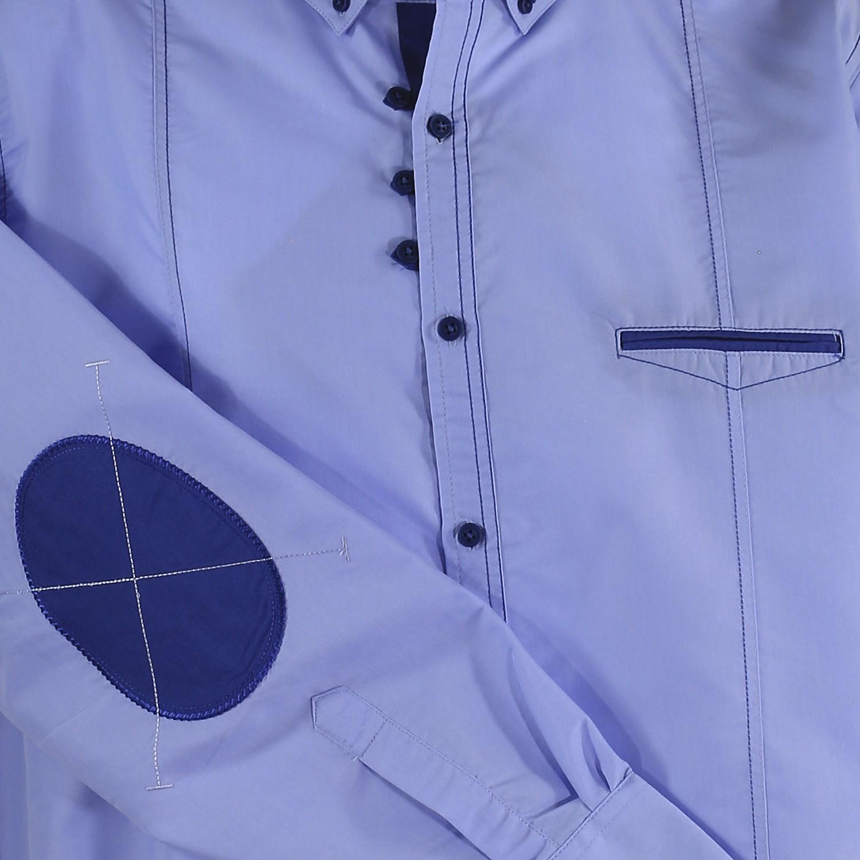 Detailbild zu Langarmhemd in hellblau / Lavecchia bis Größe 7XL