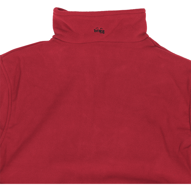 Detailbild zu Brigg Fleece-Jacke mit Futter - rubin bis Größe 14XL