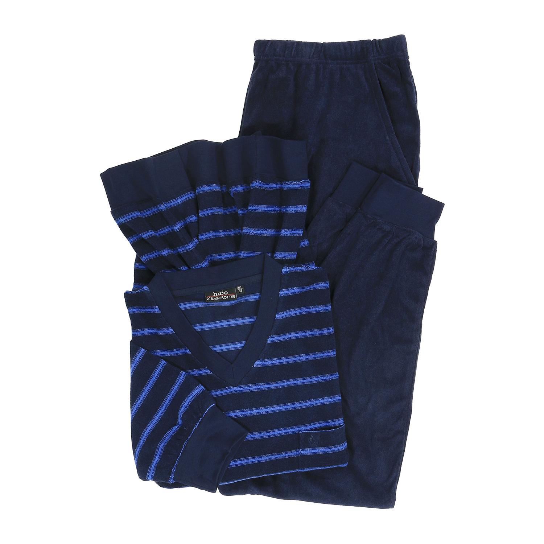 Detailbild zu Schlafanzug für Herren in großen Größen, Klima-Frottee by hajo bis Größe 5XL