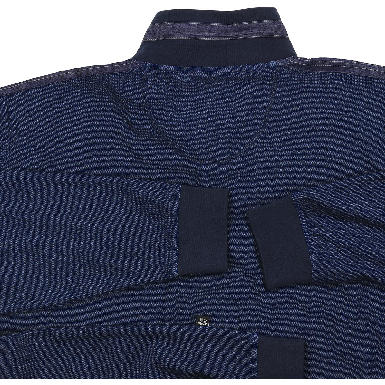 """Detailbild zu Marine farbenes Sweatshirt """"Stay Fresh"""" von hajo bis Größe 5XL"""