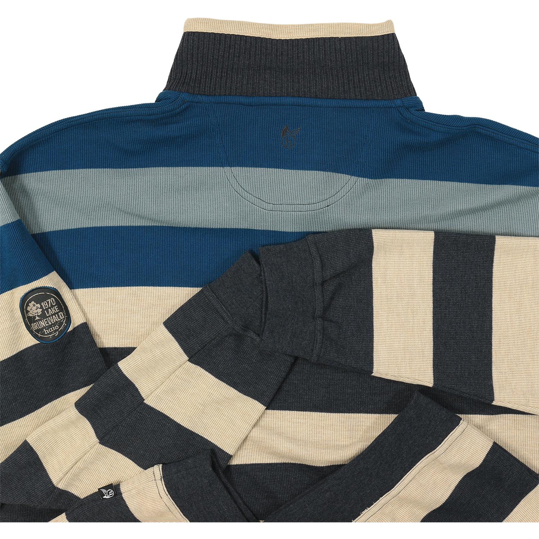 """Detailbild zu Übergrößen Sweatshirt von hajo """"Stay Fresh"""" bis 6XL, petrol"""