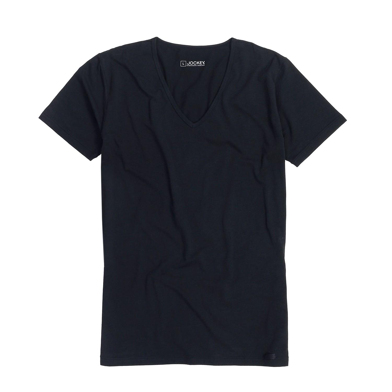 Detailbild zu Shirt im Doppelpack, V-Ausschnitt von Jockey, schwarz bis 3XL