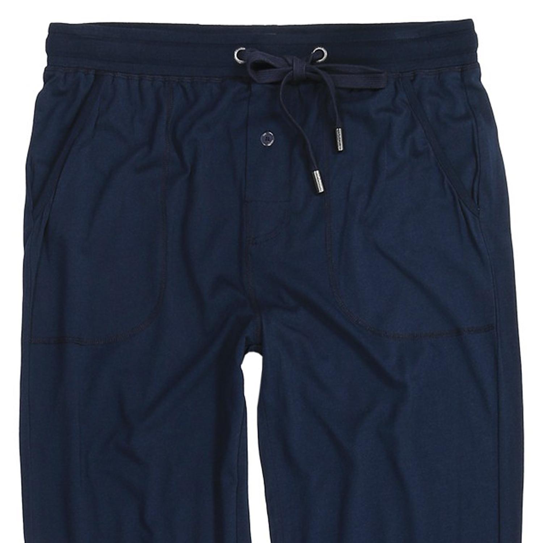 Detailbild zu Herren Pyjama-Hose von Jockey, lang, navy, Größe S bis Übergröße 6XL
