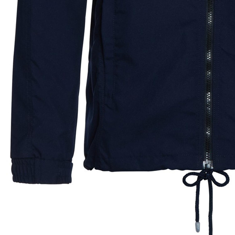 Detailbild zu Dunkelblaue Herren Sportjacke aus Micro-Polyester von Ahorn Sportswear in Übergrößen XXL bis 10XL