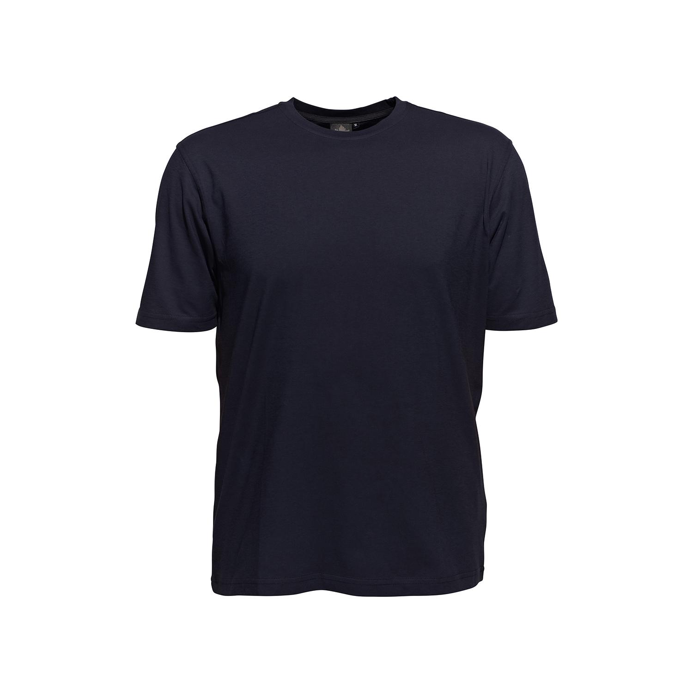 Detailbild zu Klassisches Rundhalsshirt von Ahorn, dunkelblau, XXL bis 10XL