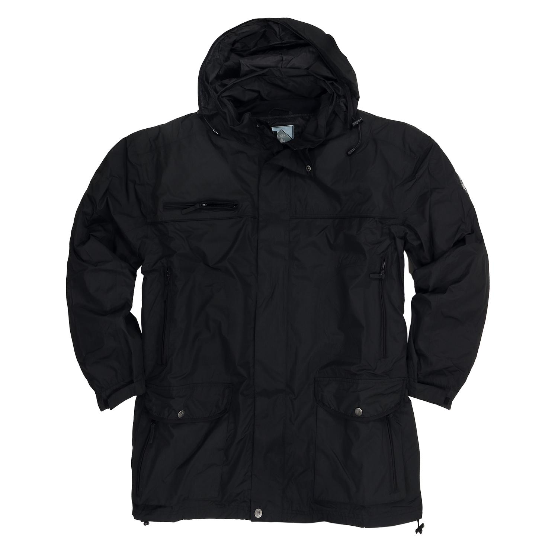 Detailbild zu Schwarze 5in1 Jacke in Übergrößen bis 7XL von Ahorn
