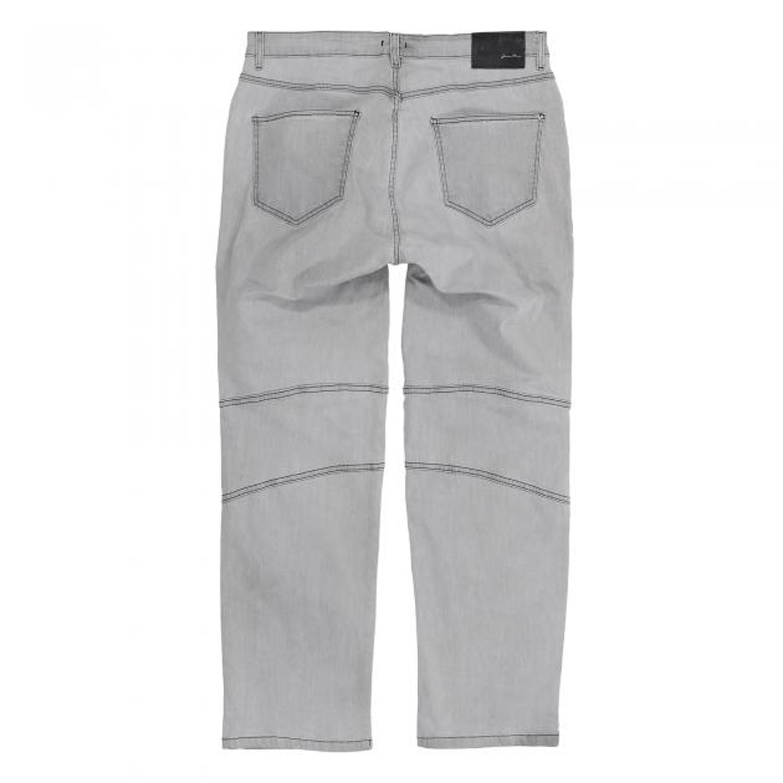 Detailbild zu Graue Herren Stretch-Jeanshose von Lavecchia in großen Größen bis 56/34