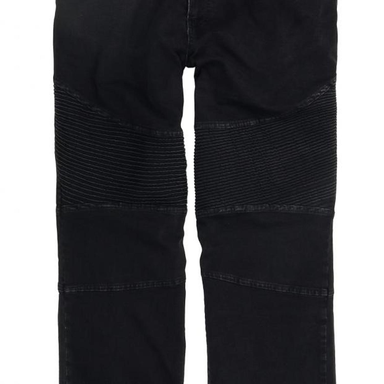 Detailbild zu Herren Stretch-Jeanshose schwarz von Lavecchia in großen Größen bis 56/34