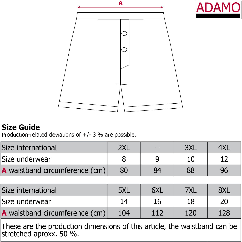 Detailbild zu Dark denim Boxershorts JAMES / ADAMO - Übergröße bis Gr. 20