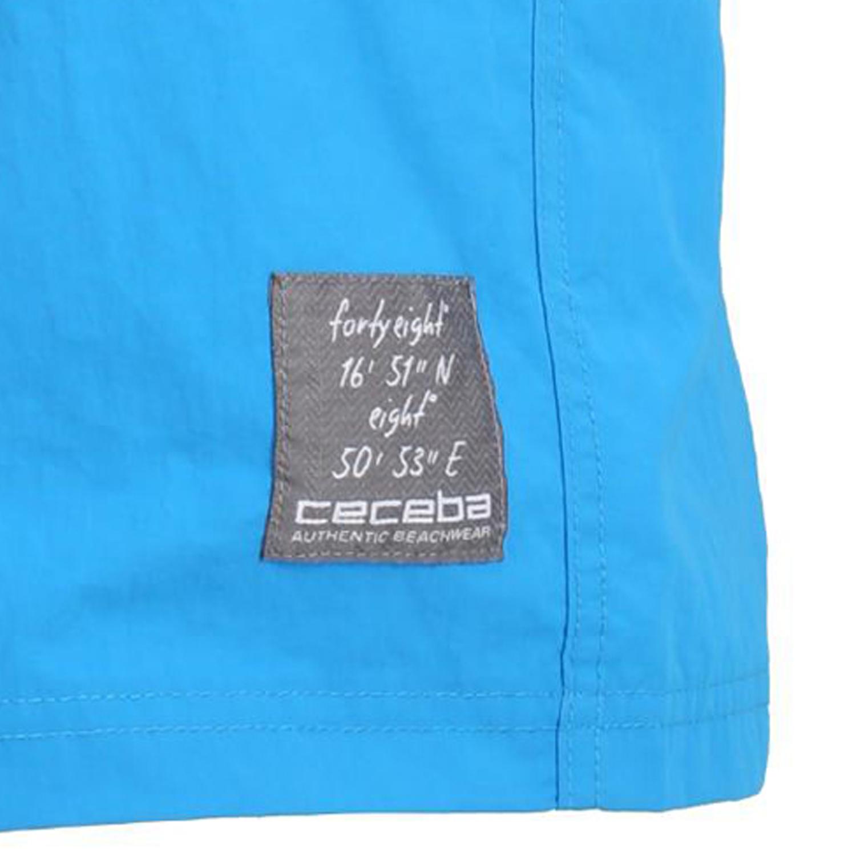 Detailbild zu Hellblaue kurze Badehose von Ceceba in großen Größen von 2XL bis 7XL