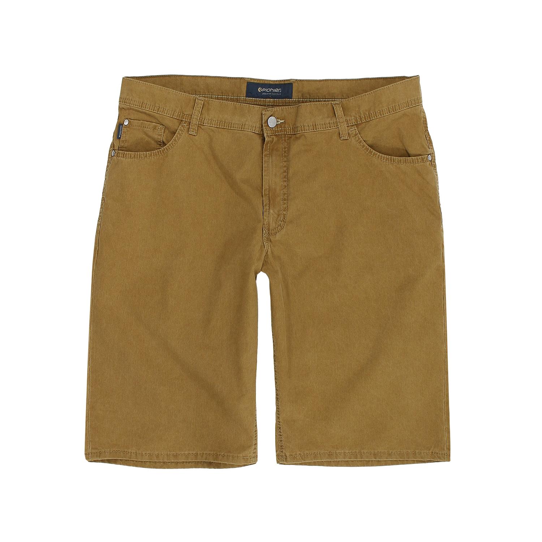 Detailbild zu Kurze Herren Five-Pocket-Jeans Modell Kevin von Pionier in braun bis Übergröße 40
