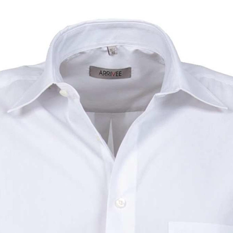 Detailbild zu Langarm Hemd weiß von ARRIVEE in großen Größen von XL bis 6XL