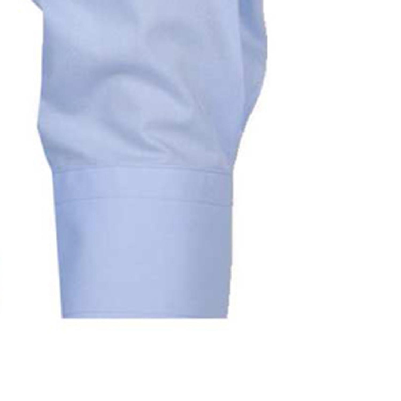 Detailbild zu Hellblaues Langarmhemd von ARRIVEE in Übergrößen von XL bis 6XL