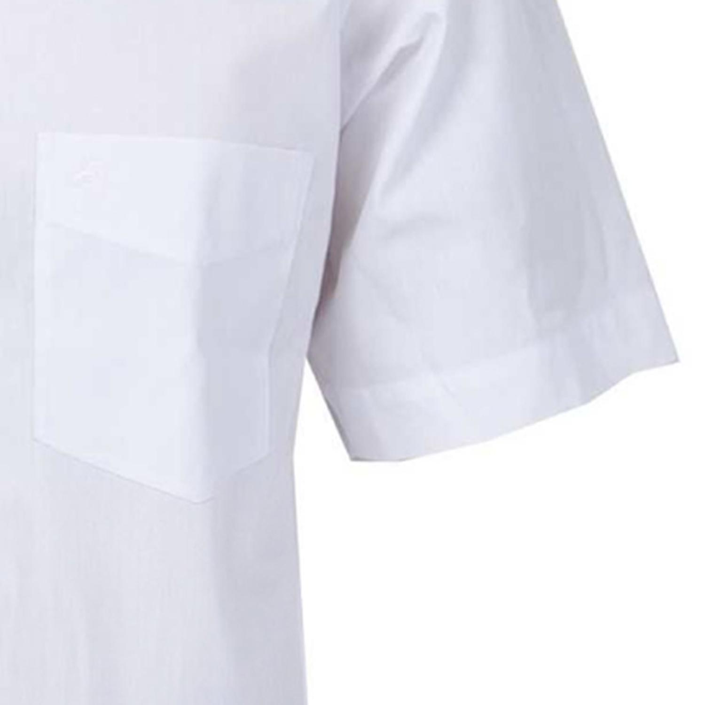 Detailbild zu Halbarmhemd in weiß von ARRIVEE in großen Größen bis 8XL