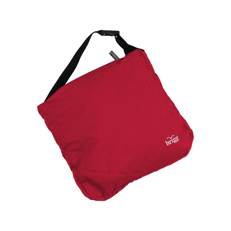 Detailbild zu Funktions-Regenjacke von Brigg, rot, erhältlich in Großen Größen bis 10XL