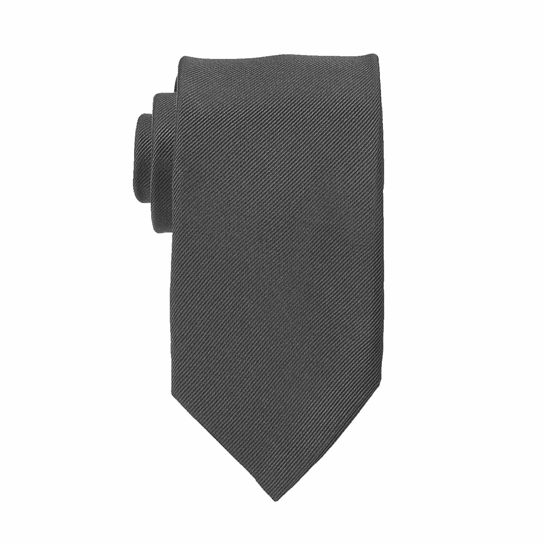 Detailbild zu Graue Seiden-Krawatte in Überlänge von Ploenes