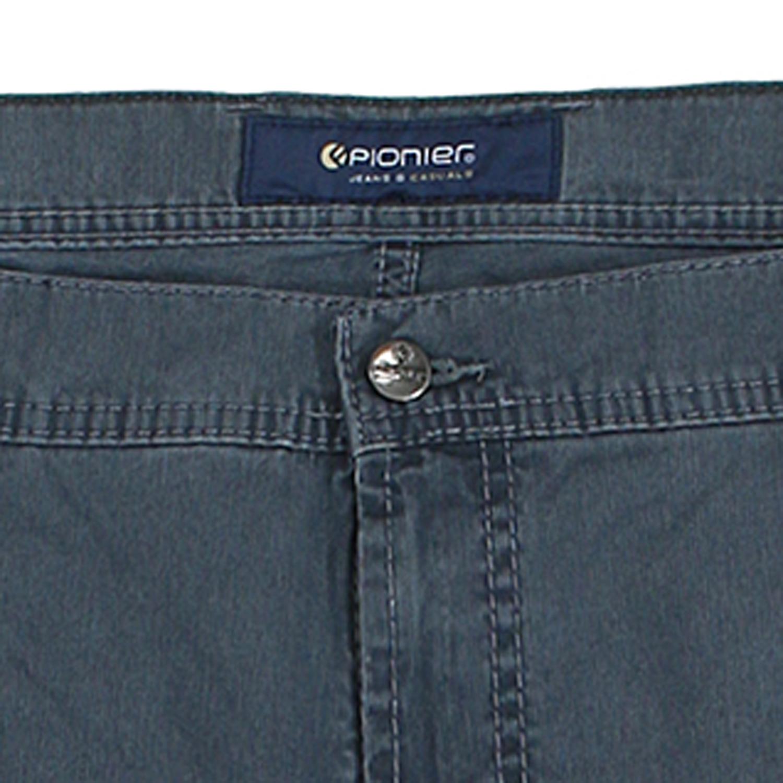 Detailbild zu Kurze Five-Pocket-Jeans Herren Modell Kevin von Pionier in grau bis Übergröße 38