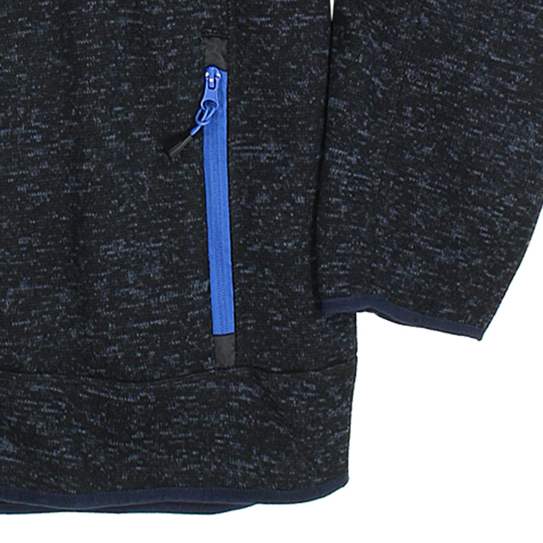 Detailbild zu Brigg Fleece-Jacke in Strickoptik - navy bis Größe 14XL