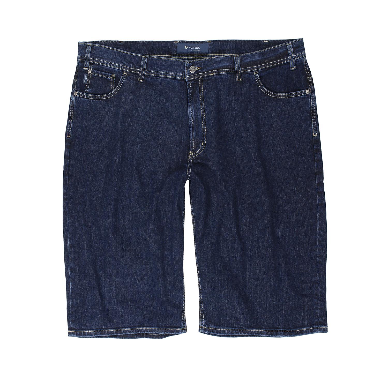 Detailbild zu Kurze Five-Pocket-Jeans Herren Modell Kevin von Pionier in dunkelblau bis Übergröße 36